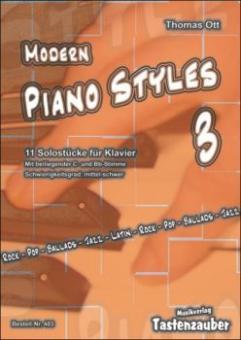 Modern Piano Styles 3