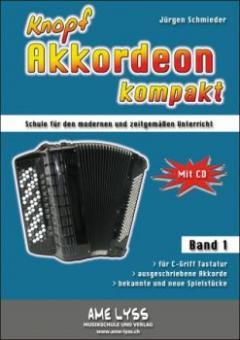 Knopfakkordeon kompakt Bd.1
