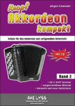 Knopfakkordeon kompakt Bd.2