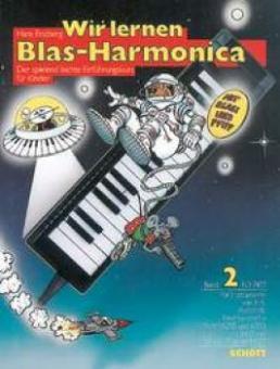 Wir lernen Blas-Harmonica Band 2