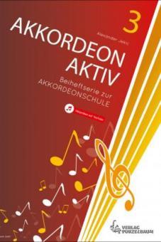Akkordeon AKTIV Band 3