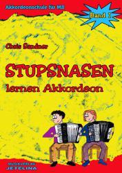 Stupsnasen lernen Akkordeon Band 1
