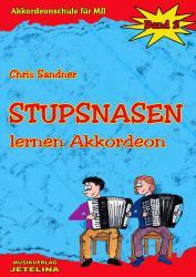 Stupsnasen lernen Akkordeon Band 2