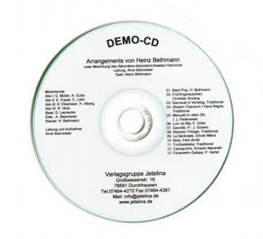 Demo-CD Heinz Bethmann