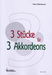 3 Stücke für 3 Akkordeons