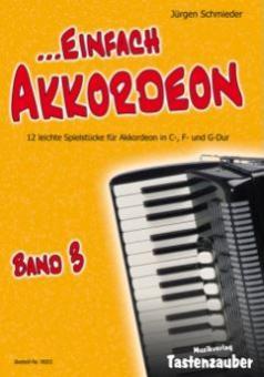 Einfach Akkordeon Band 3