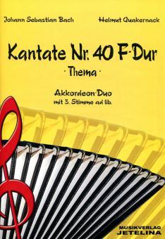 Kantate Nr. 40 F-Dur