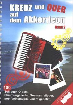 Kreuz und quer auf dem Akkordeon Bd.2