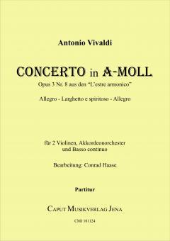 Concerto in a-Moll op. 3 Nr. 8