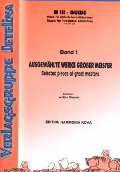 Ausgewählte Werke großer Meister Band 1
