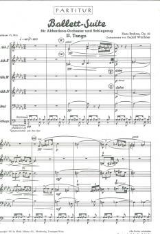 Ballett-Suite - 2.Satz: Tango