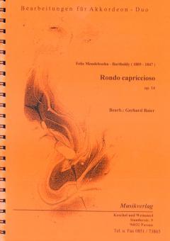 Rondo Capricioso in E-Dur, op. 14