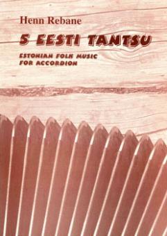 5 Eesti tantsu - Estonian folk music for accordion