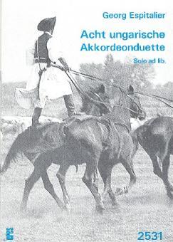 Acht ungarische Akkordeonduette