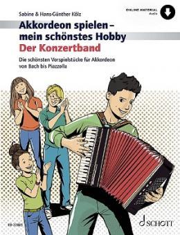 Akkordeon spielen mein schönstes Hobby - Der Konzertband