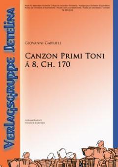 Canzon Primi Toni (Ch. 170)