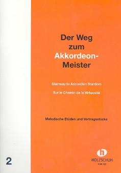 Der Weg zum Akkordeon-Meister Band 2