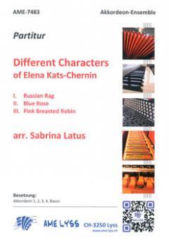Different Characters of Elena Kats-Chernin