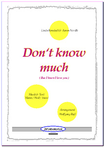 Don't Know Much (But I Love You)
