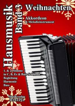 Hausmusik Band 3 Weihnachten