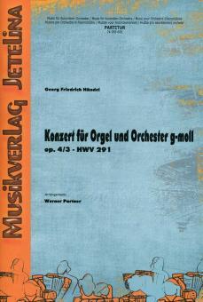 Konzert für Orgel und Orchester g-moll op. 4/3