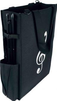 Notentasche Maxi Komfort schwarz 37 x 55 x 14 cm