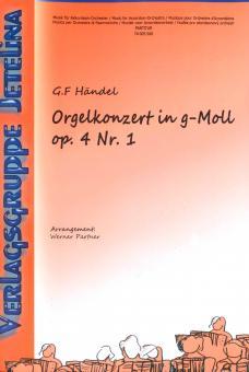 Konzert für Orgel und Orchester g-moll op. 4/1