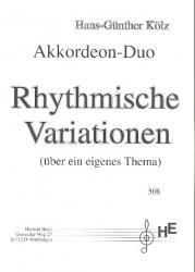 Rhythmische Variationen (über ein eigenes Thema)