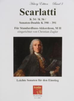 Scarlatti K 34/ K 36/ Sonaten-Double K 390-391