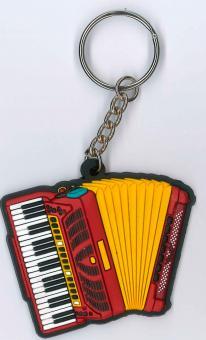Schlüsselanhänger Akkordeon
