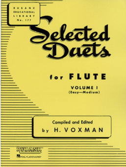 Selected Duets for Flute Vol. I - easy-medium