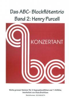 Das ABC-Blockflötentrio Band 2