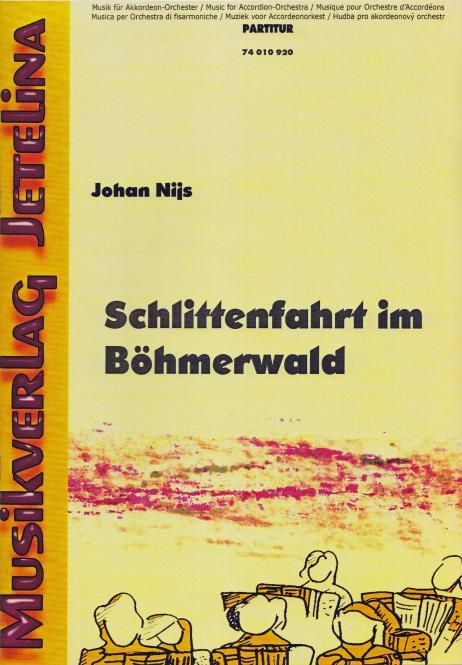Schlittenfahrt im Böhmerwald