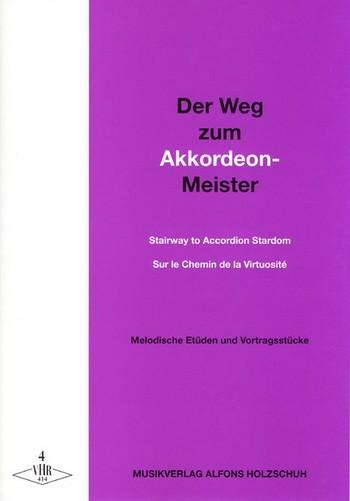 Der Weg zum Akkordeon-Meister Band 4