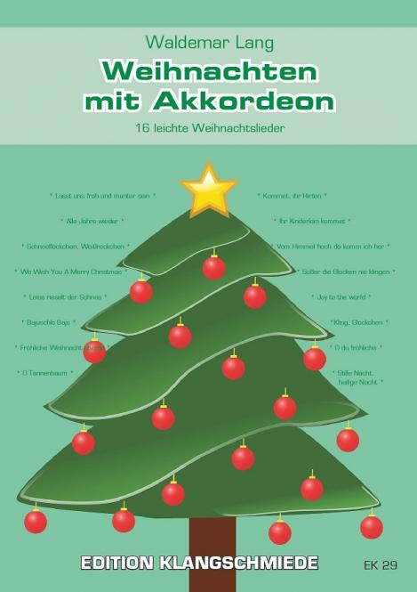Weihnachten mit Akkordeon