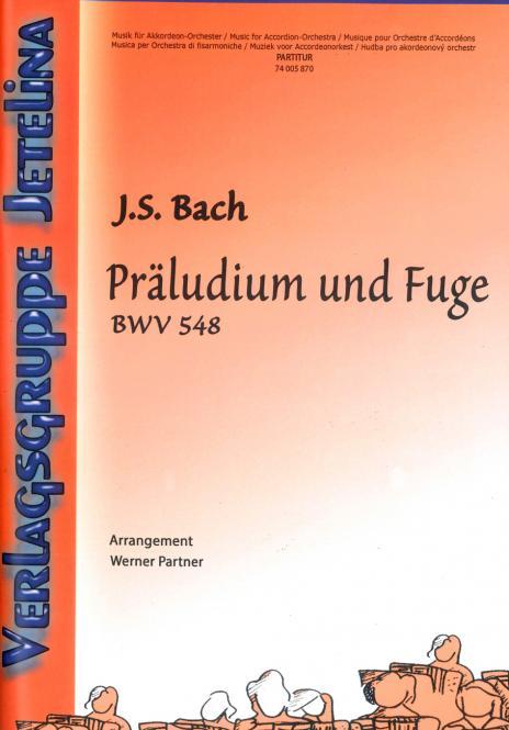 Präludium und Fuge BWV 548