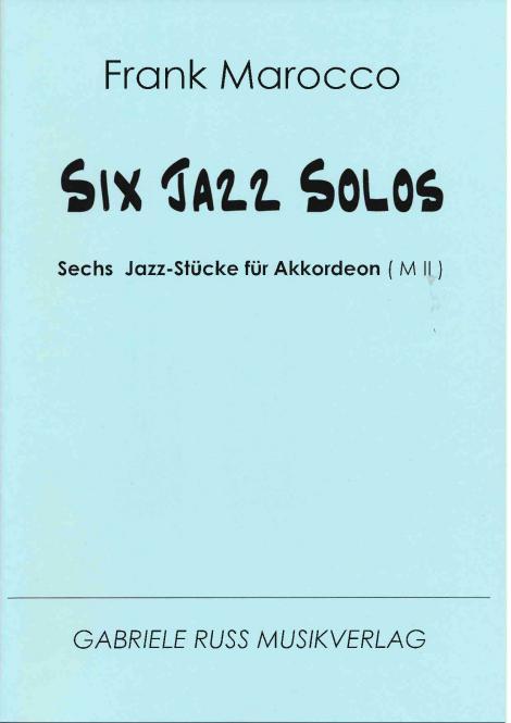 Six Jazz Solos