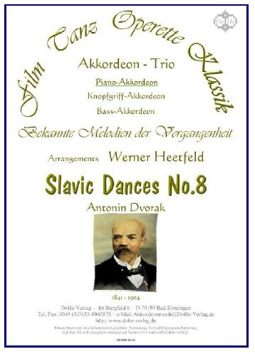 Slavic dance No.8