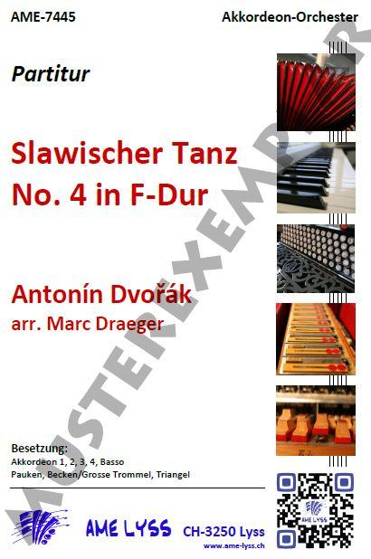 Slawischer Tanz Nr. 4 in F-Dur