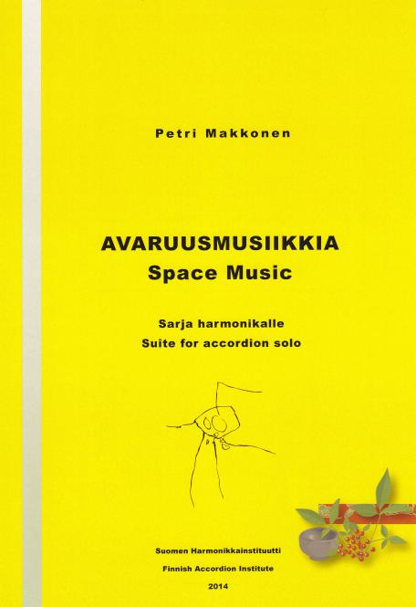 Space Music for accordion