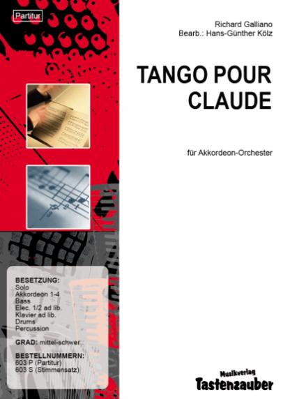 Tango pour Claude