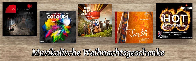 Herausragende CD's mit Akkordeonmusik